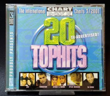 20 TOPHITS  3/2001 ✰ The International CHARTS BOXX ✰ Top 13 Music ✰