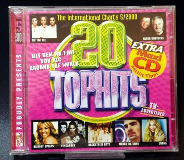 20 TOPHITS  5/2000 Extra Maxi CD ✰ The International CHARTS✰ Top 13 Music ✰