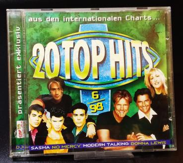 20 TOPHITS  ✰ aus den Internationalen Charts ✰ Top 13 Music ✰ 6/98