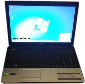ACER Aspire E1-571G-53238G1TMNKS |4GB RAM | 500 HDD | Notebook mit 15,6 Zoll Display | Intel Core™ i5 |  Schwarz