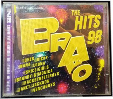 "Bravo THE HIT""S 98 ✰ 2 x CD, Compilation ✰ Cher, Loona, Janet Jackson, Backstreet Boys u.a"