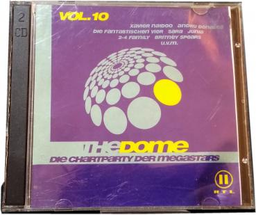 The Dome Vol.10 ★ Die Chartparty der Megastars ★ doppel CD