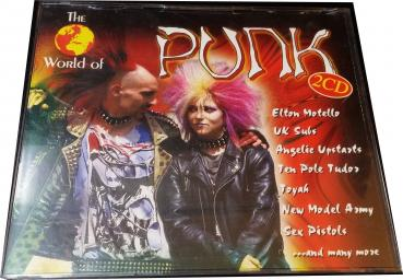 The World of Punk★ Musik CD ★ Various ★ 1997 ★ Doppel CD