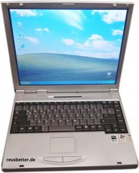 Vobis Power 1500+ Notebook | 14,1 Zoll TFT | Athlon XP 1500+ | 20 GB HDD