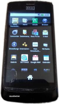 ZTE-1001 BASE Lutea Glossy ❖ Piano Black ANDROID Smartphone ❖ 5 MP