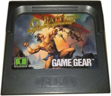 Sega Game Gear - Ax Battler - a Legend of Golden Axe