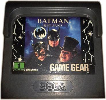 Sega Game Gear BATMAN RETURNS