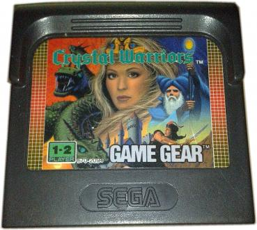 CRYSTAL WARRIORS (Game Gear SGG) Retro Game