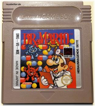 Dr. Mario - Super Mario Bros. - Nintendo Game Boy Spiel
