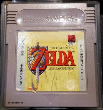 THE LEGEND OF ZELDA - LINK´S AWAKENING Nintendo GAME BOY