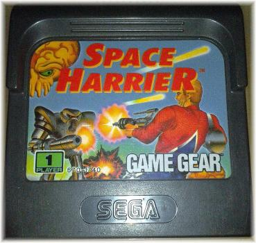 Sega Game Gear - Space Harrier