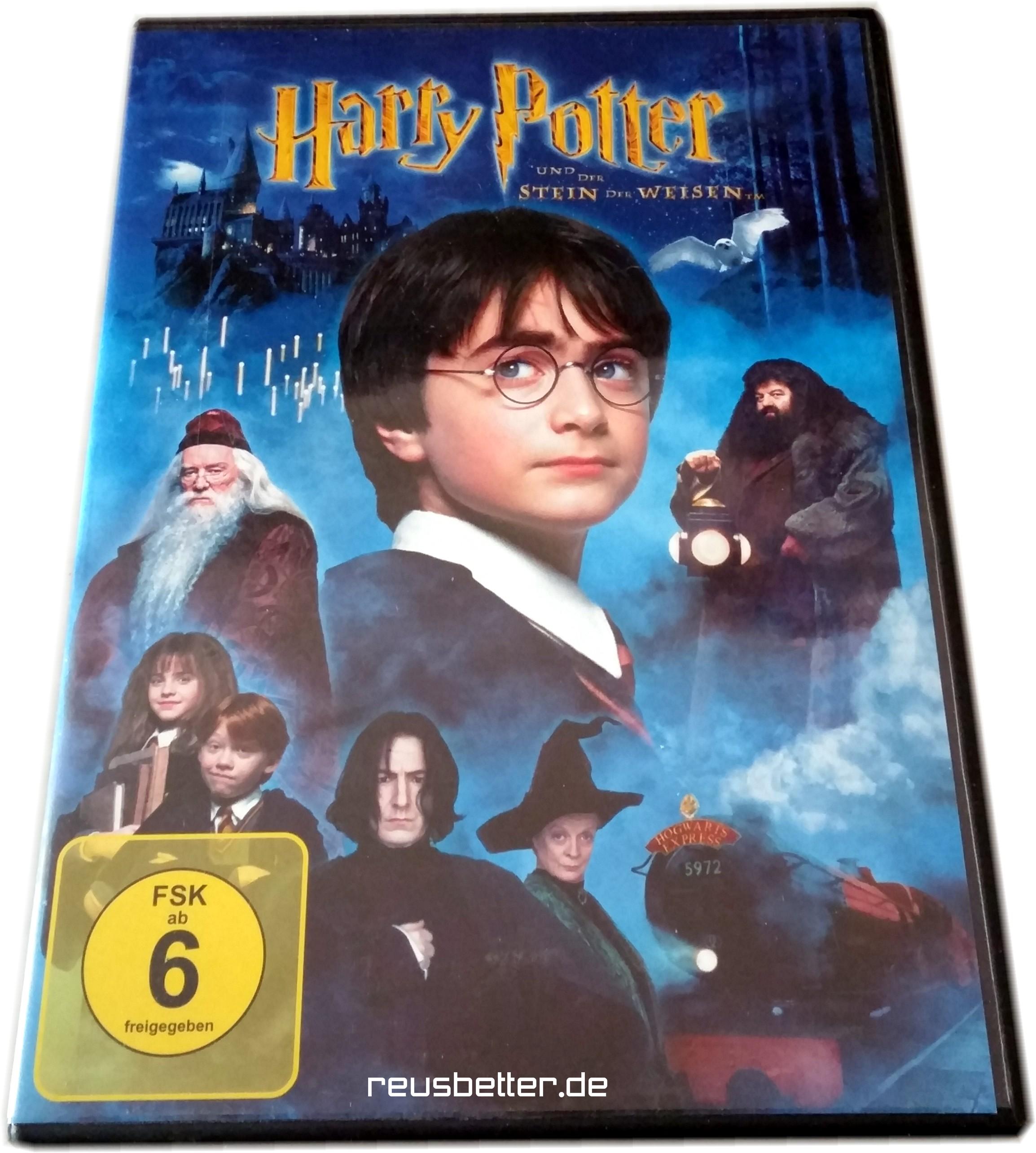 Harry Potter Und Der Stein Der Weisen Dvd Movie